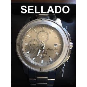 Reloj Kenneth Cole Caballero Elegante Gris Cuarzo Envio Grat