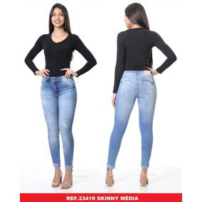 Calça Feminina Jeans Melissa Biotipo 23419 414b056bef3