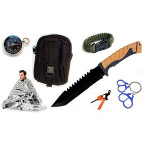 Kit Supervivencia M8947 C Pouch , 7 Acesorios Envio Gratis