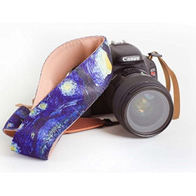 bb50f2d5e79892 Van Gogh Starry Night Camera Strap - Universal Dslr Camera