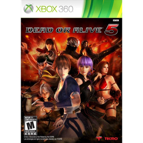 Jogo Novo Lacrado Dead Or Alive 5 Para Xbox 360 Ntsc
