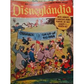 Revista Disneylândia Exemplar N° 1 - Ed. Abril - 23/09/1971