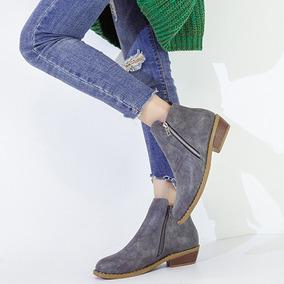 fc946d66f12 Botas Modernas Y Sexys Para Mujer U10101009 - Zapatos Gris oscuro en ...