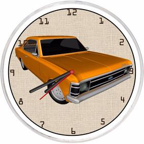 12ce53384f2 Relógio De Parede Sala Cozinha Vintage Retrô Opala Promoção