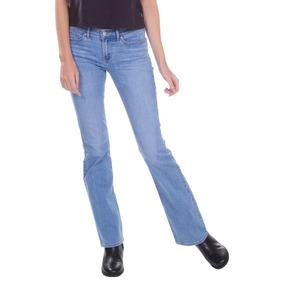b23bc8e2001f2 Calça Jeans Feminina - Calças Levi´s Calças Jeans Feminino Azul aço ...