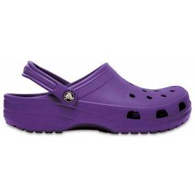 Zapato Crocs Dama Classic Violeta