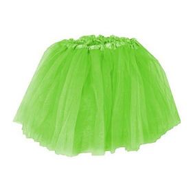 Accesorios,lime Green Green Layered Basic Ballet Tutu Gi..