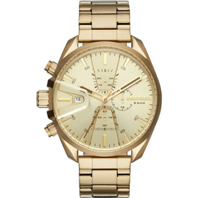 d31284a1831 Relógio Diesel Dz4268 Cronógrafo Dourado - Relógios no Mercado Livre ...