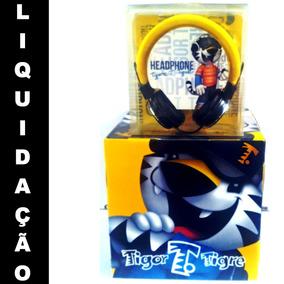 [ Original ] Fone Ouvido Headphone Infantil Tigor Barato,