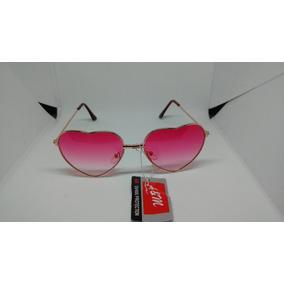 55eb86e15bb5f Óculos Retro De Coração.(rosa) Sol - Óculos no Mercado Livre Brasil