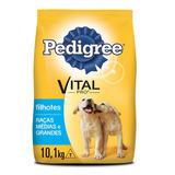 Ração Pedigree Filhote Vital Pro Para Cães De Raças Médias E