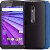 Smartphone Motorola G3 Xt1550 Duos 13mp Preto 16gb (vitrine)