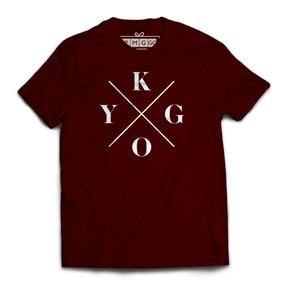 Camisa Masculina Kygo - Camisetas e Blusas no Mercado Livre Brasil 9927eeaa907