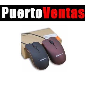 Mouse Optico Usb Lenovo Raton Con Cable Usb 2.0 Sky