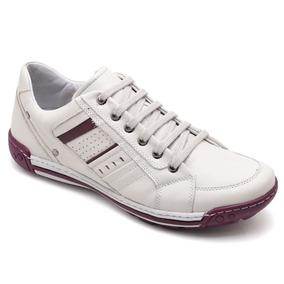066ac970e31 Sapato Pegada Vermelho Masculino - Sapatos Branco no Mercado Livre ...