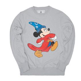 Sudadera Hombre Mickey Fantasia Pullover Máscara De Látex