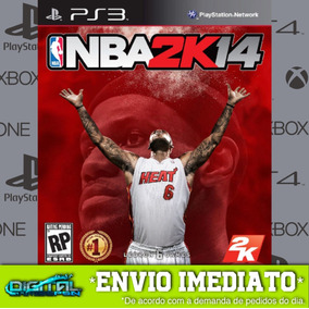 Nba 2k14 Ps3 Psn Game Digital Envio Hoje.
