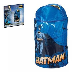 Porta Objetos Brinquedos Roupa Suja Criança Batman