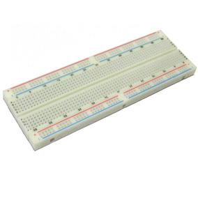 Protoboard Breadboard 830 Pontos 830 Furos Arduino Raspberry