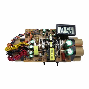 945f7daf11d Relógio Decorativo Dinamite Tnt Bomba Explosiva Réplica 25cm