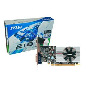 Tarjeta De Video Msi Geforce 210 Nvidia Pcie 1gb Ddr3 Bagc