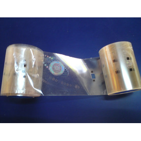 2 Pz Ribbon Holograma De Seguridad Datacard 10927
