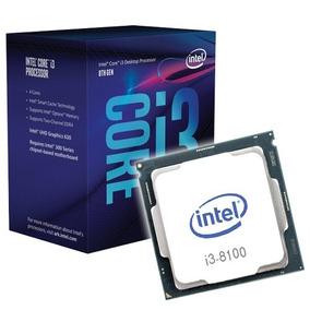 Processador Intel Core I3 8100 3.6ghz 6mb 8ª Geração