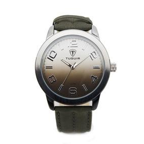 Relógio Masculino Tuguir Analógico 5001 Preto E Prata 3bc5e2d59d