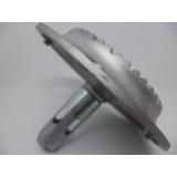 Quemador Gas Aluminio Mabe Original 3 Aluminio Sin Cubierta