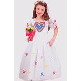 Vestido De Noiva Caipira Infantil No Mercado Livre Brasil