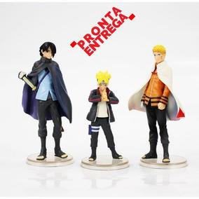 Action Figure Naruto Hokage Sasuke Boruto Pronta Entrega