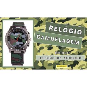 9c0b44ab0ef Relogio Camuflado Infantil - Relógios De Pulso no Mercado Livre Brasil