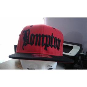 Gorra Bompton Roja Con Negro