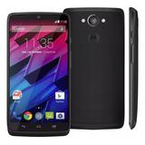 Smartphone Motorola Moto Maxx 64gb Preto Seminovo
