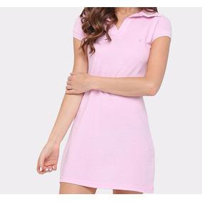 Vestido Polo Calvin Cl - Vestidos Femininas Rosa claro no Mercado ... f06c58580d