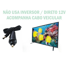 Tv Digital 12v 24 Pol 12 Volts Caminhão Carro Truck Food Van
