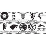 Calcomanias Vinil Games Of Thrones (juego De Tronos)