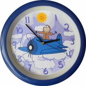 Reloj Manecillas Avion Relojes En Mercado Libre México