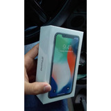 Iphone X 64gb Silver Novo Na Caixa Lacrado.