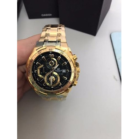 177ff0d57ce Relogio Cassio Edifice Dourado 558 - Relógios De Pulso no Mercado ...