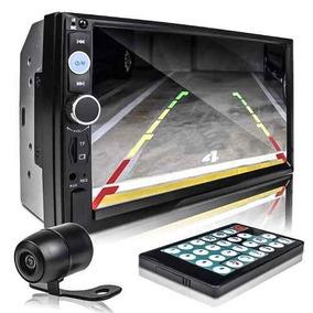 Central Multimidia Automotivo Bluetooth Com Camera De Re 6,2