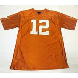 Camiseta Football Americano Texas Ncaa Talle L   12 daf54fc6d2a