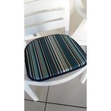 Almofada Assento Acquablock Cadeiras De Plástico 4 Pçs