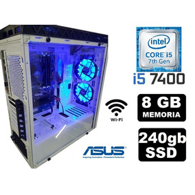 Cpu Gamer Asus Core I5 7400 16gb Ssd240 Hd1tb Gtx1050ti 500w