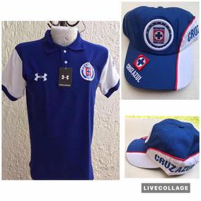 Gorra Y Playera Cruz Azul Unitalla