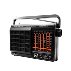 Rádio Motobras Rm-pft73ac - 7 Faixas, Fm/om/5oc - Bivolt
