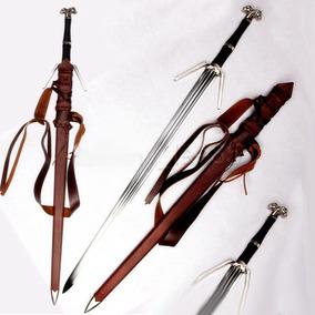 Espada The Witcher 3 Wild Hunt Geralt Of Rivia Aço Funcional