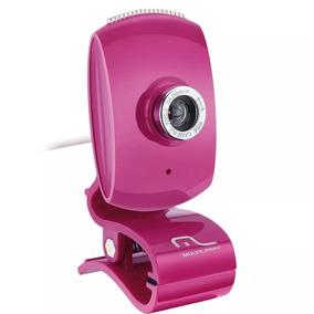 Webcam Multilaser - Plug&play Pink Piano Wc048