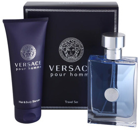 Perfume Estuche Versace Pour Homme - Travel Edition