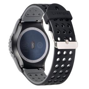 Smart Watch Banda Lwsengme 20mm Gear S2 Classic -negrocdmxdf